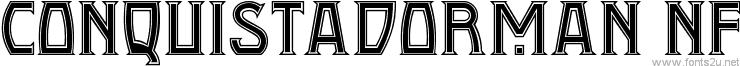 Conquistadorman NF