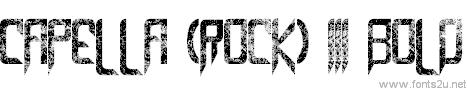 Capella (Rock) III