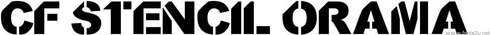 CF StencilOrama