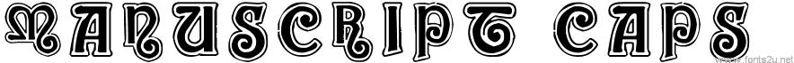 ManuScript Caps