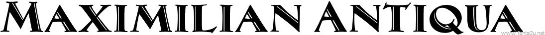 MaximilianAntiqua