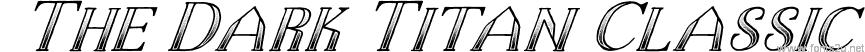 The Dark Titan Classic