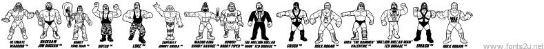 Retro Hasbro WWF Figures
