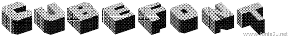 Cubefont