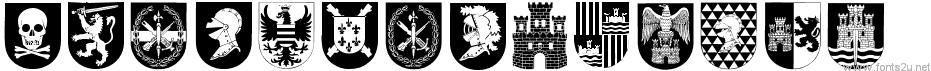 Spanish Army Shields
