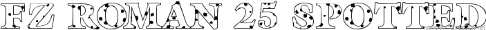 FZ ROMAN 25 SPOTTED