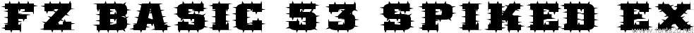 FZ BASIC 53 SPIKED EX