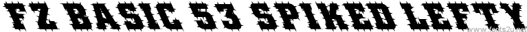 FZ BASIC 53 SPIKED LEFTY