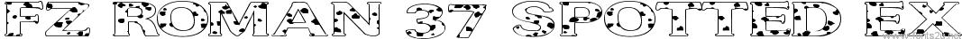 FZ ROMAN 37 SPOTTED EX