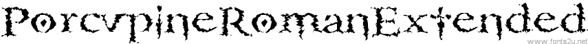 PorcupineRomanExtended