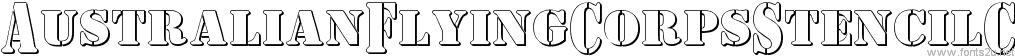AustralianFlyingCorpsStencilC