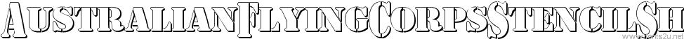 AustralianFlyingCorpsStencilSh