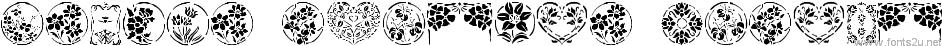 Floral Stencil Design