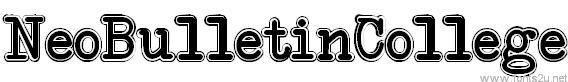 NeoBulletin College