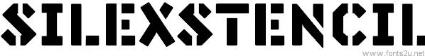 Silex Stencil