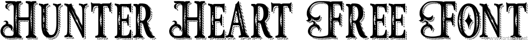 Hunter Heart Free Font