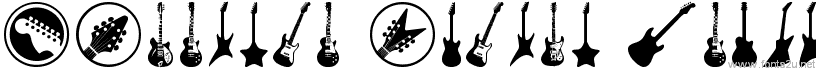 Electric Guitar Icons