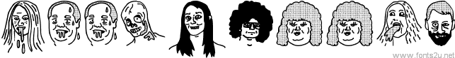 woodcutter people faces