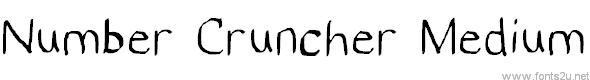 Number Cruncher Hand