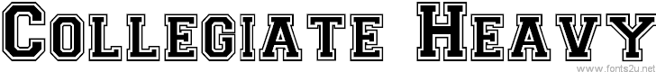 CollegiateHeavyOutline
